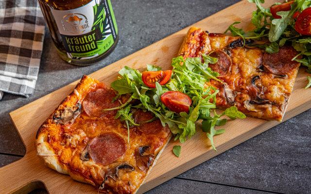 Scharfe Pizza - Scharfe Pizza - Rezepte mit den Ölfreunden