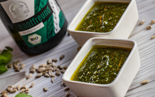 Pesto mit Hanffreund - Pesto mit Hanffreund - Rezepte mit den Ölfreunden
