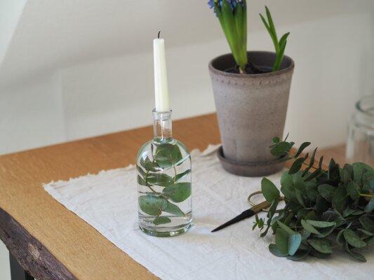Ölflaschen Upcycling -
