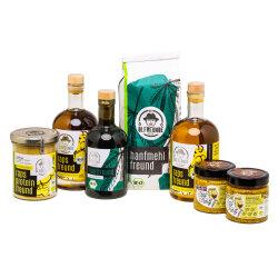 Bio Kombipaket Öl, Senf, Protein und Mehl...