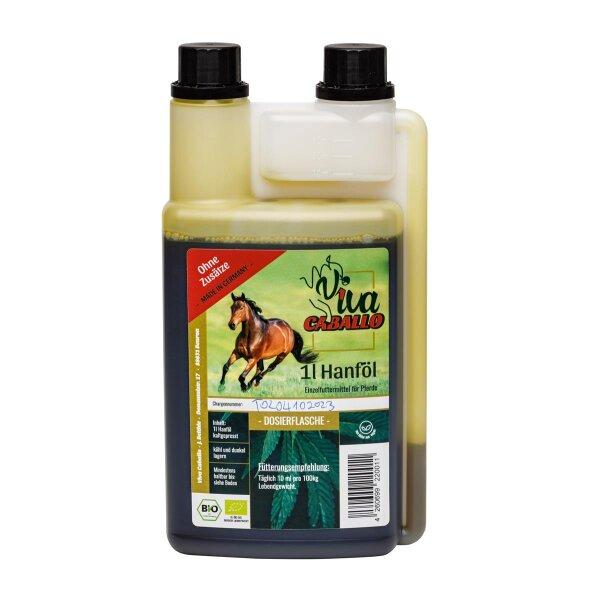"Bio Hanföl für Pferde 1l ""Viva Caballo"""